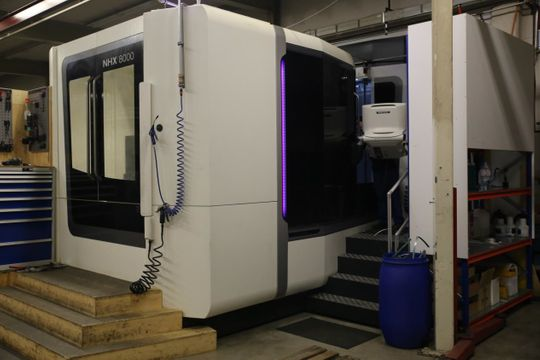 S-Mechanik AG - DMG MORI NHX 8000